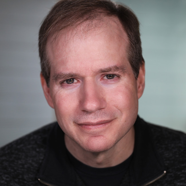 Greg Kerr, creator of Exceptionals, writer and actor